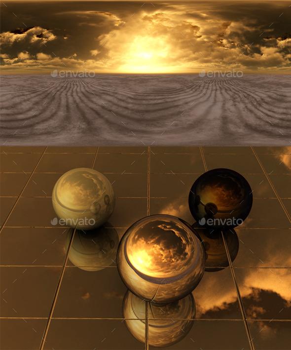 Desert 201 - 3DOcean Item for Sale