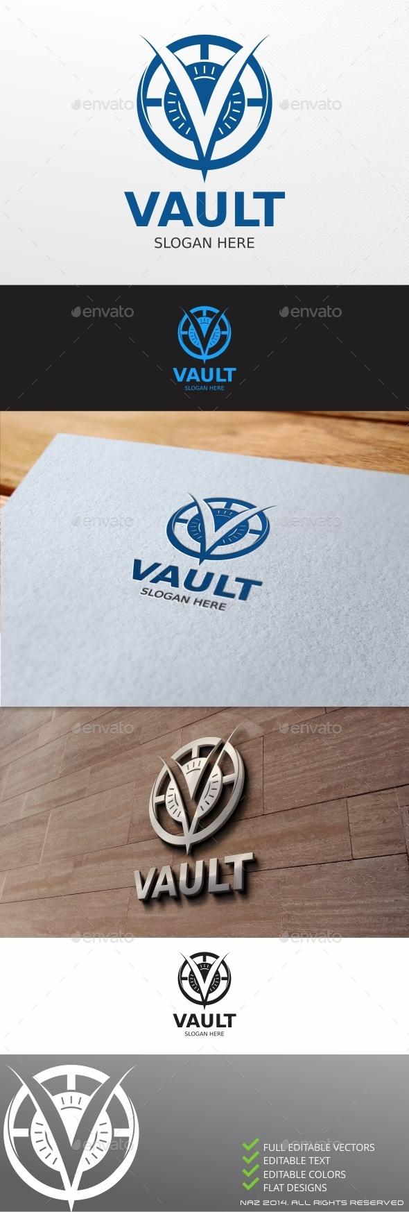 Vault Logo - Letters Logo Templates