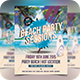 Beach Party Sessions - Futuristic Electro Flyer - GraphicRiver Item for Sale