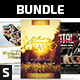 Church Flyer Bundle Vol. 2 - GraphicRiver Item for Sale