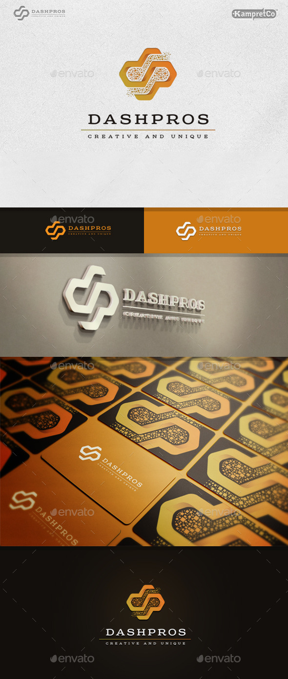 D P Letter Logo - Letters Logo Templates