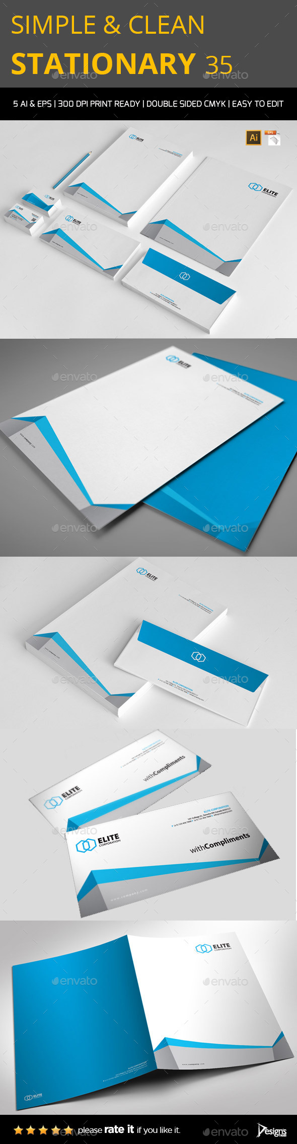 Stationery 3 - Stationery Print Templates