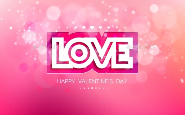 Love in Pink for Valentines - Valentines Seasons/Holidays
