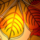 Abstract autumn bright background with leaves - GraphicRiver Item for Sale