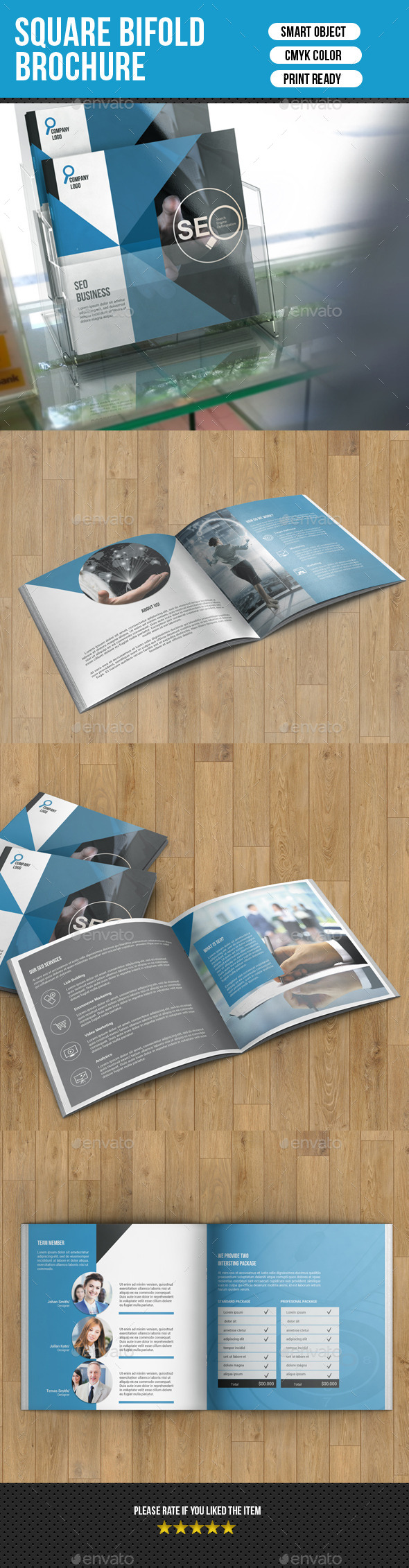 Corporate Square Bifold Brochure-V08 - Corporate Brochures