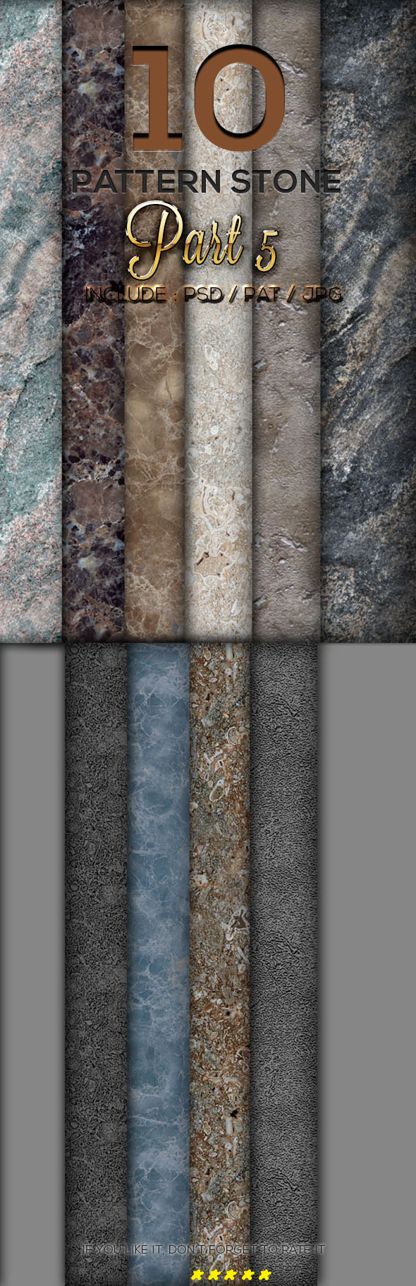 10 Stone Texture Pattern Part 5 - Textures / Fills / Patterns Photoshop