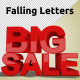 Falling Letters - VideoHive Item for Sale