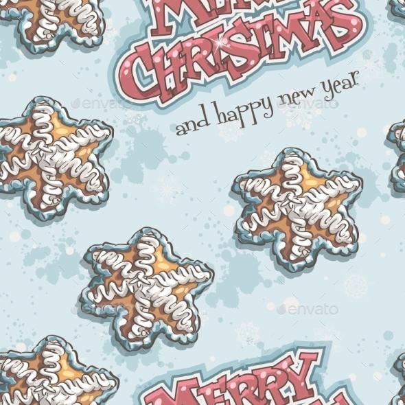 Christmas and New Year Seamless Texture - Christmas Seasons/Holidays