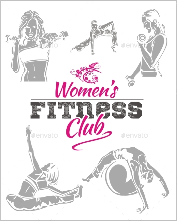 Womens Fitness Gym - Sports/Activity Conceptual