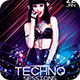 Techno Sessions Flyer - GraphicRiver Item for Sale