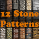12 Stone Patterns - GraphicRiver Item for Sale