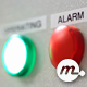 Green Operating and Red Alarm Buttons - VideoHive Item for Sale