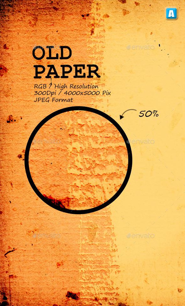 Old Paper Texture 0003 - Paper Textures