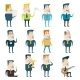 Businessman Cartoon Characters Business and Market - GraphicRiver Item for Sale