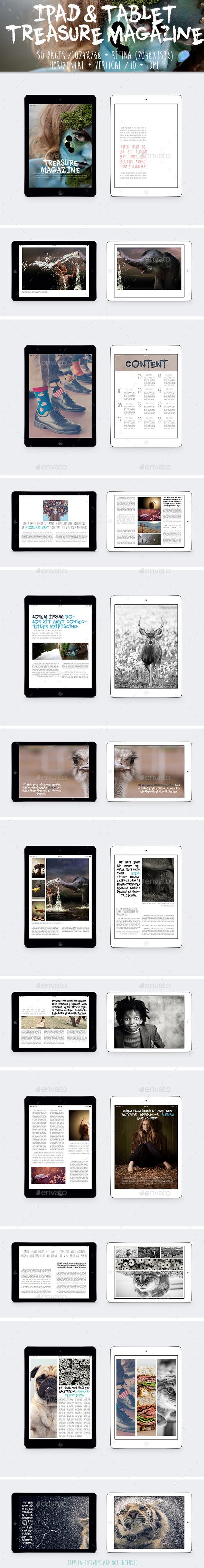 Ipad & Tablet Treasure Magazine - Digital Magazines ePublishing