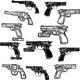 Pistols - GraphicRiver Item for Sale