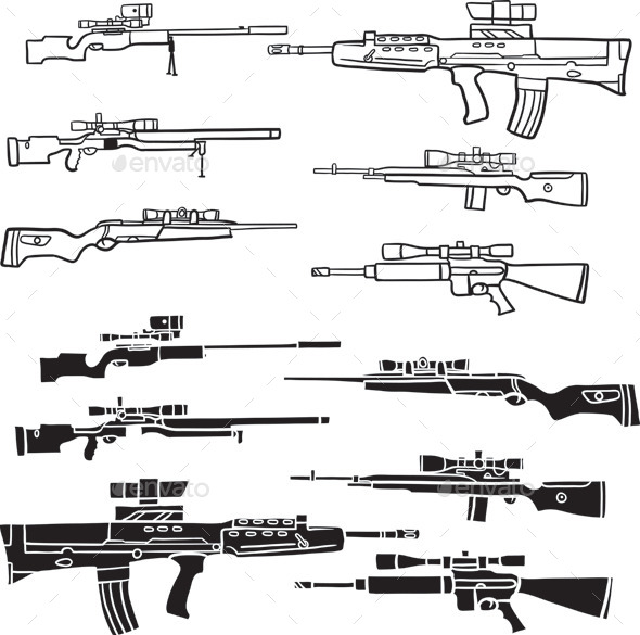 Weapon - Man-made Objects Objects