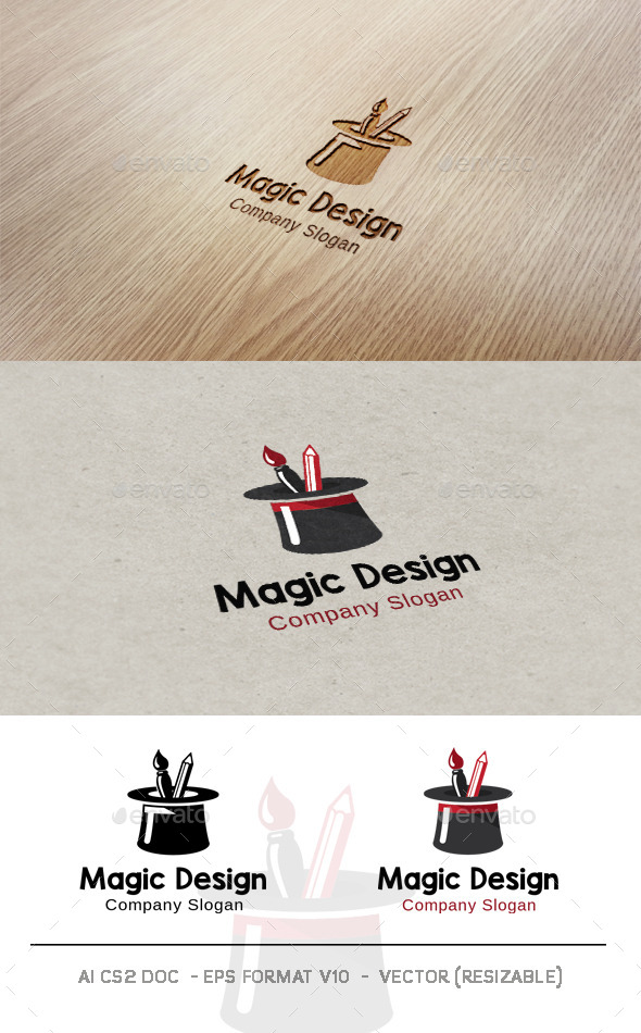 Magic Design Logo - Objects Logo Templates