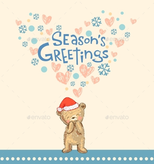 Season's Greetings - Christmas Seasons/Holidays