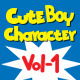 Boy Character Vol 1 - GraphicRiver Item for Sale