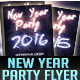 New Year 2015, 2016 Party Flyer Template - GraphicRiver Item for Sale