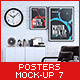 Posters Mock-Up vol.7 - GraphicRiver Item for Sale