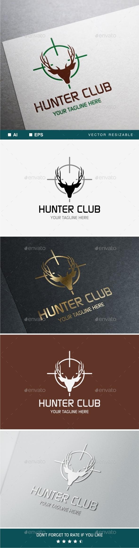 Hunter Club Logo - Animals Logo Templates