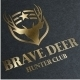 Brave Deer Logo - GraphicRiver Item for Sale