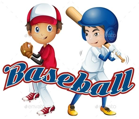 Baseball - People Characters