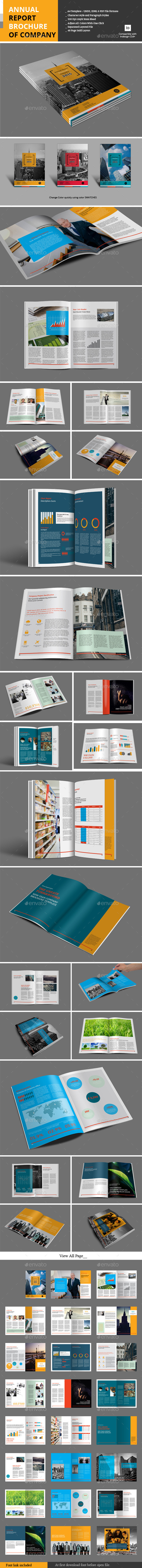 Annual Report Brochure of Company - Informational Brochures