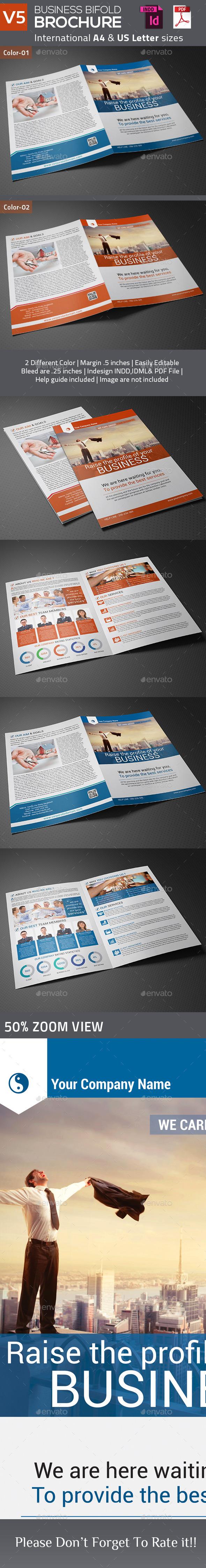 Business Bifold Brochure V5 - Corporate Brochures