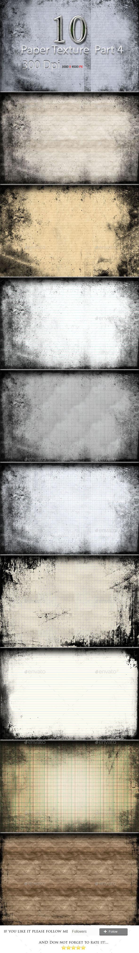 10 Paper Texture Part 4 - Textures