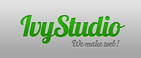 Ivystudio homepage