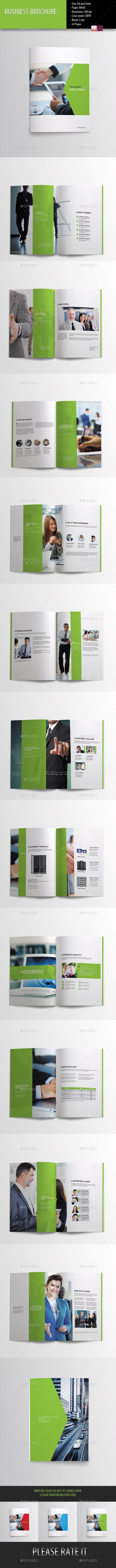 Business Brochure-Indesign Template - Corporate Brochures
