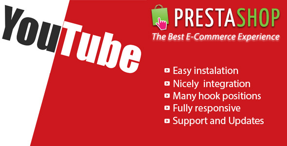 Responsive Video Youtube for Prestashop - CodeCanyon Item for Sale
