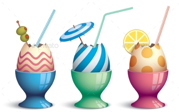 Easter Cocktails - Seasons/Holidays Conceptual