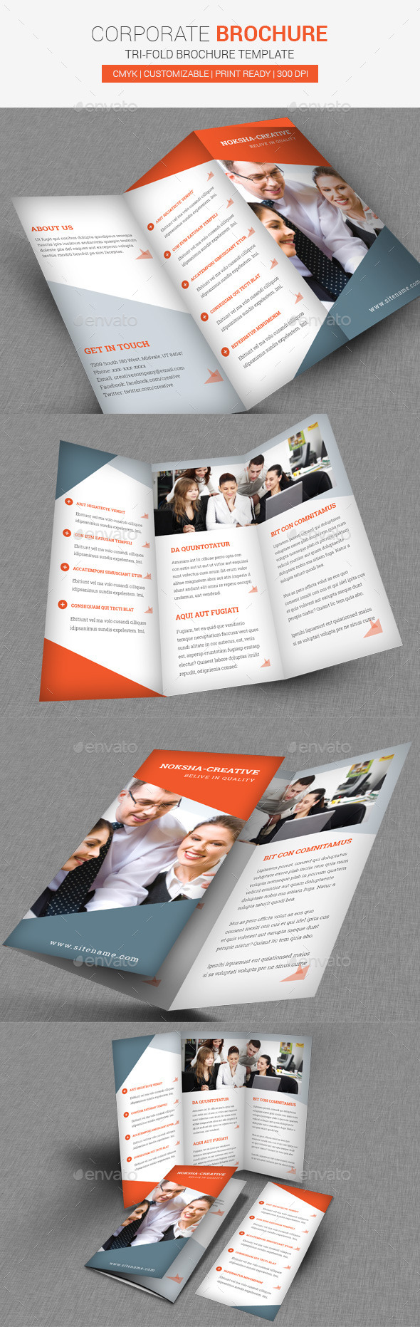 TriFold Brochure Corporate - Corporate Brochures