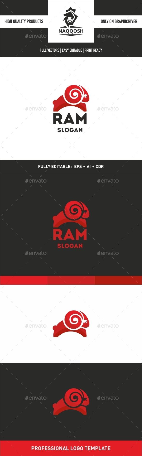 Ram - Animals Logo Templates