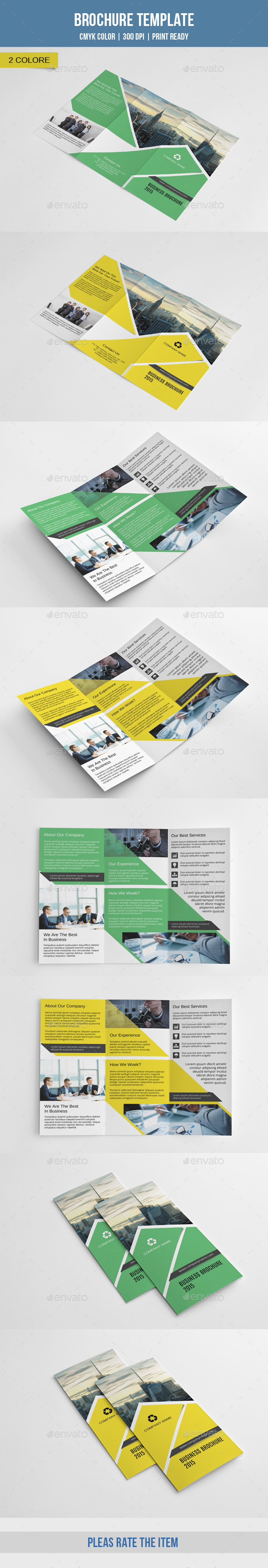 Corporate Trifold Brochure-V209 - Corporate Brochures