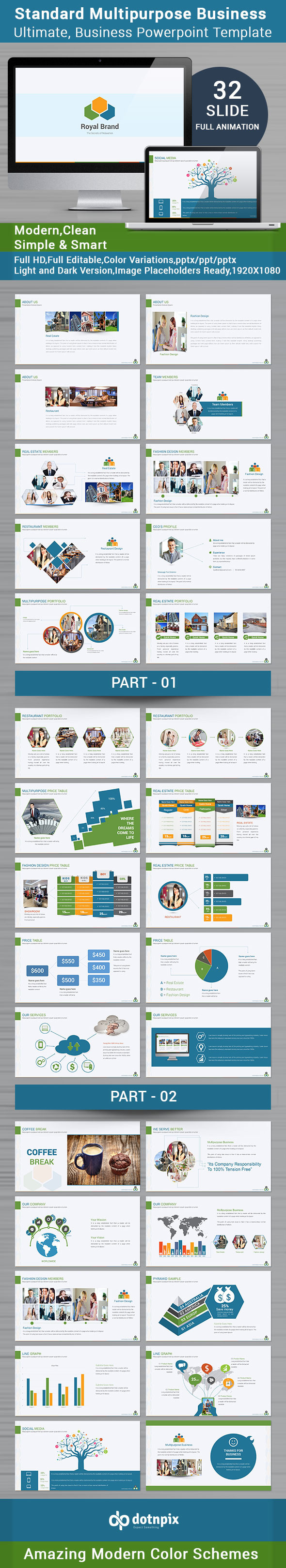 Standard multipurpose business powerpoint template by dotnpix standard multipurpose business powerpoint template powerpoint templates presentation templates toneelgroepblik Gallery