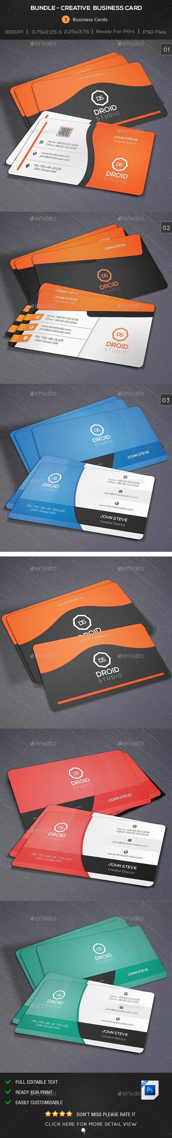 Bundle - Creative Business Card - Creative Business Cards