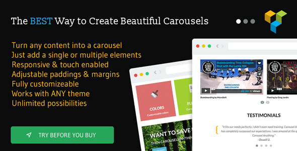 Carousel Anything for Visual Composer - CodeCanyon Item for Sale