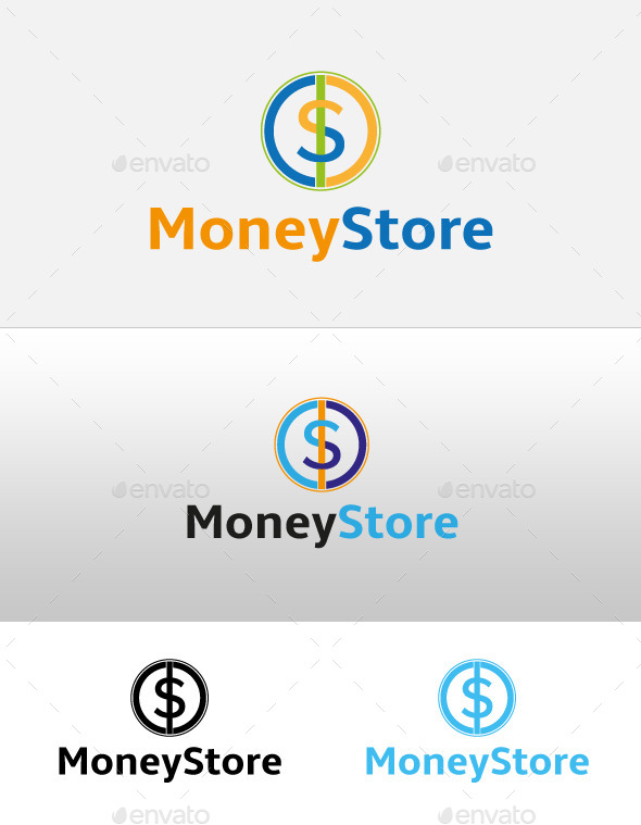 Money Store Logo - Logo Templates