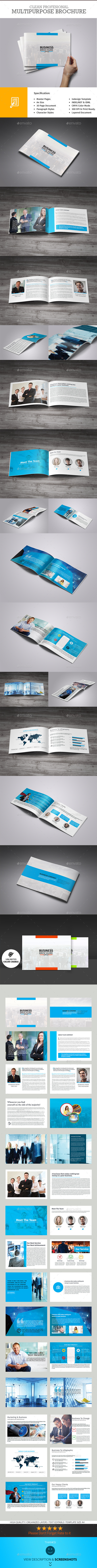 Business Solution - 30 Pages Business Brochure - Corporate Brochures