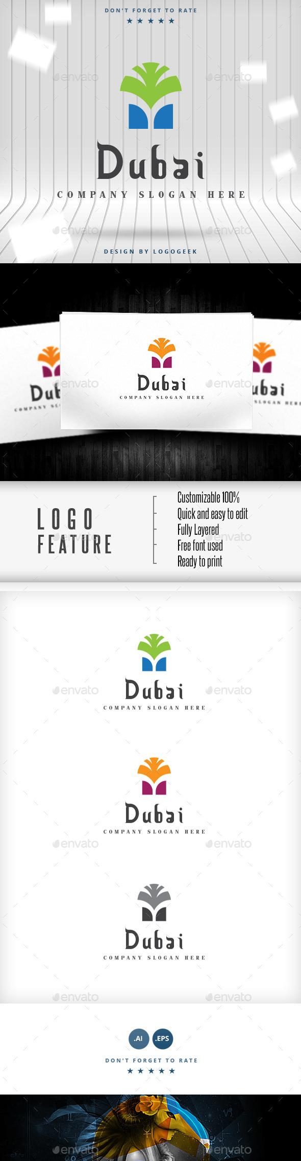 Dubai Logo - Logo Templates