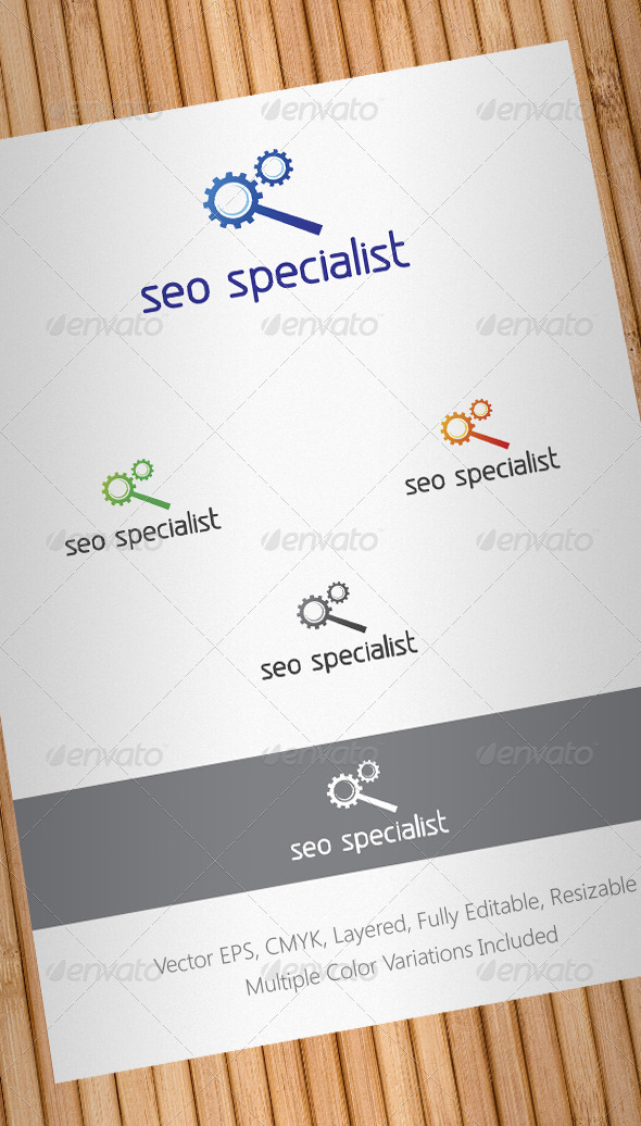 Seo Specialist Logo Template - Abstract Logo Templates