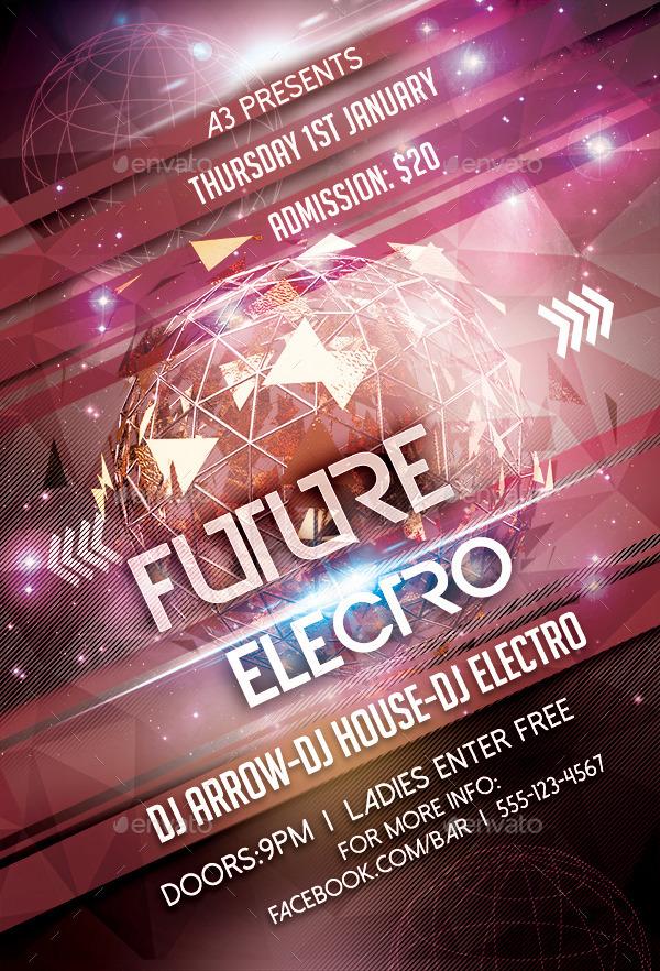 Future Electro Flyer Template