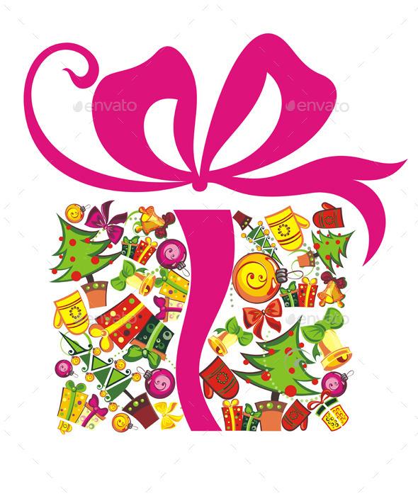 Christmas Present - Decorative Symbols Decorative