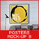 Posters Mock-Up vol.8 - GraphicRiver Item for Sale