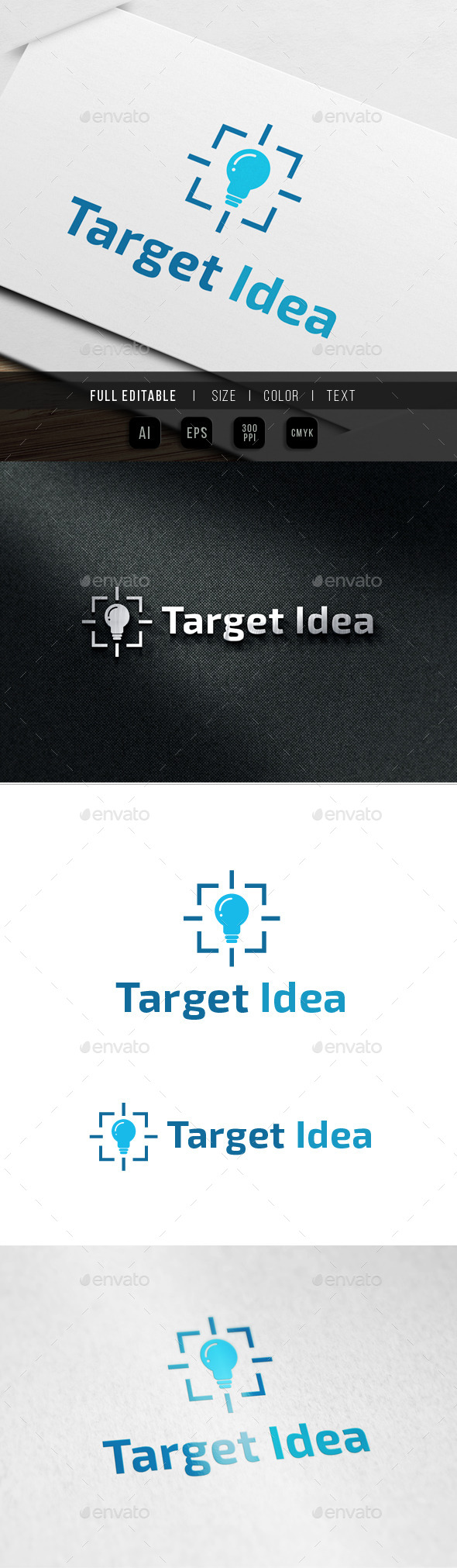 Target Photo - Abstract Logo Templates